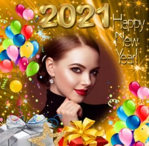 Happy New Year Photo frames 2021